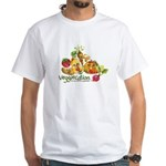 Colorful Veggiecation Men's Fitted T-Shirt