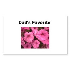 Dads_favorite_pink_petunia Decal