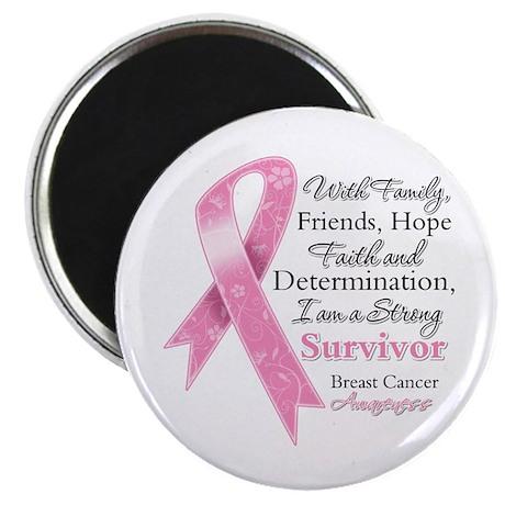Breast Cancer Strong Survivor Magnet
