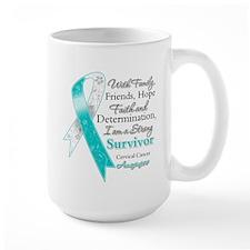 Cervical Cancer Survivor Mug