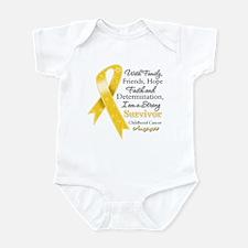 Survivor Childhood Cancer Infant Bodysuit