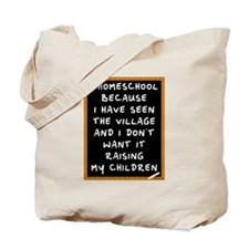 I Homeschool Too Tote Bag