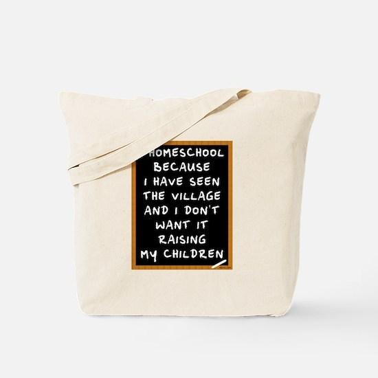 I Homeschool Too Tote Bag