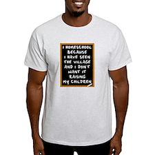 I Homeschool Too T-Shirt