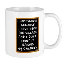 I Homeschool Too Mug