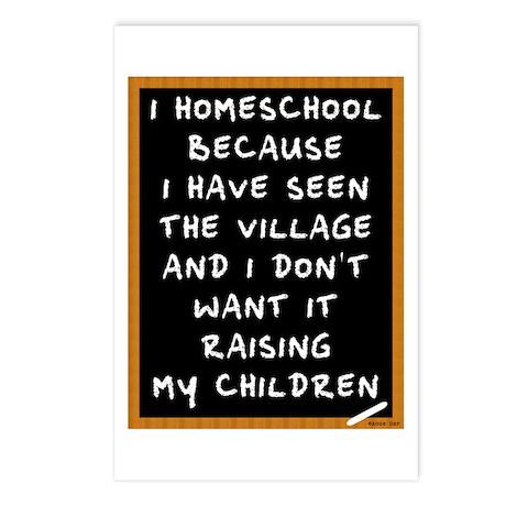 I Homeschool Too Postcards (Package of 8)