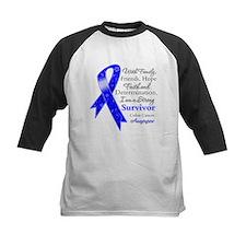 Colon Cancer Strong Survivor Tee