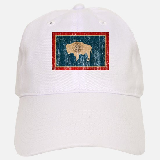 Wyoming Flag Cap