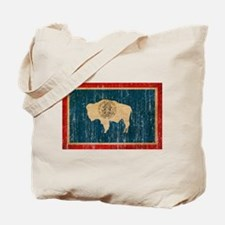 Wyoming Flag Tote Bag