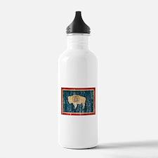 Wyoming Flag Water Bottle