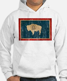 Wyoming Flag Jumper Hoody