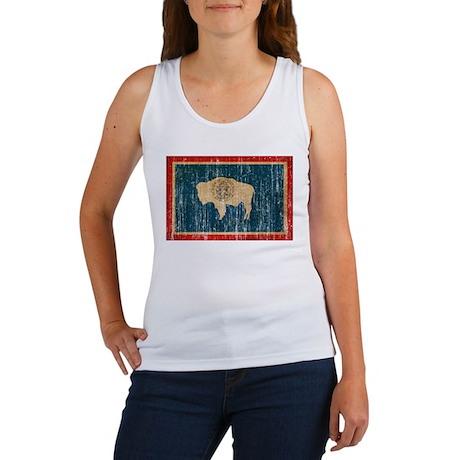 Wyoming Flag Women's Tank Top