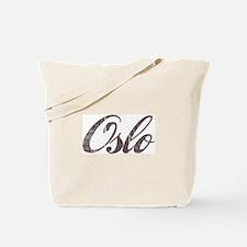 Vintage Oslo Tote Bag