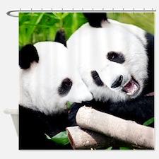 Panda Cubs Shower Curtain