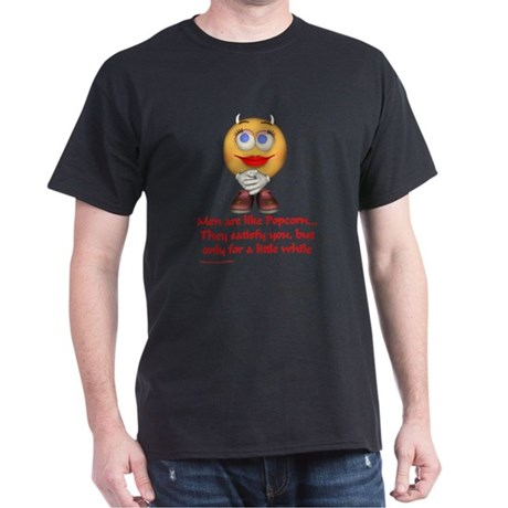 Popcorn... Black T-Shirt