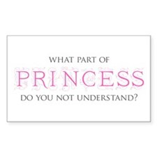 Princess Decal