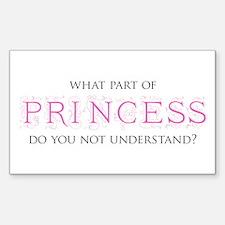 Princess Decal
