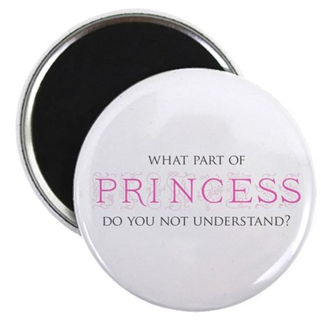 "Princess 2.25"" Magnet (100 pack)"