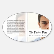 Angel Darkside The Perfect Date Sticker (Oval)