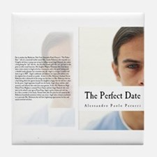 Angel Darkside The Perfect Date Tile Coaster