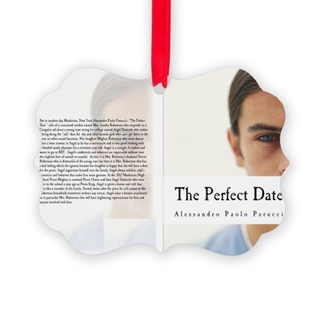 Angel Darkside The Perfect Date Picture Ornament