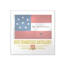 8th Tennessee Artillery (Flag 10).png Square Stick
