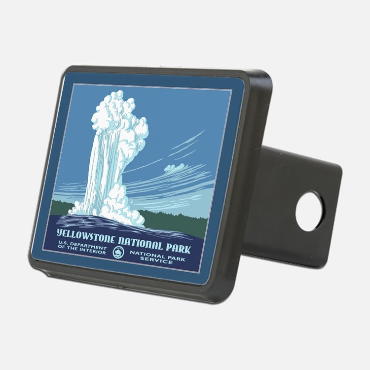 Yellowstone Travel Souvenir Hitch Cover