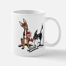 Rat Terrier Sweethearts Mug