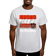 Silky Flag Austria (Oesterreich) T-Shirt