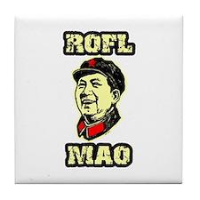 ROFL MAO Tile Coaster