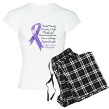Strong Hodgkins Lymphoma pajamas