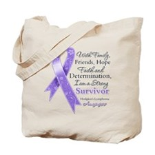Strong Hodgkins Lymphoma Tote Bag