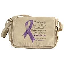Strong Hodgkins Lymphoma Messenger Bag
