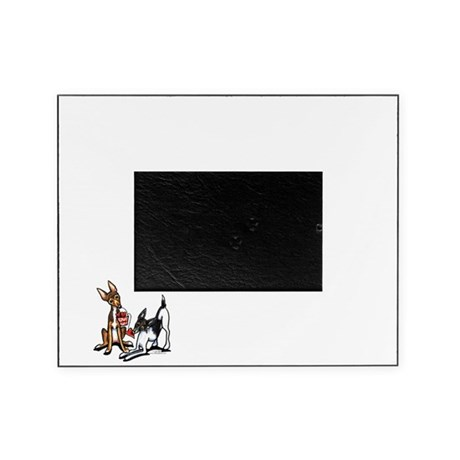 Rat Terrier Sweethearts Picture Frame
