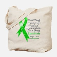 Strong Survivor Kidney Cancer Tote Bag