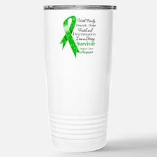 Strong Survivor Kidney Cancer Travel Mug