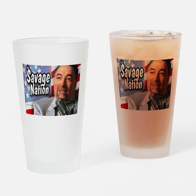Savage Drinking Glass