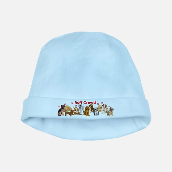Ruff Crowd baby hat
