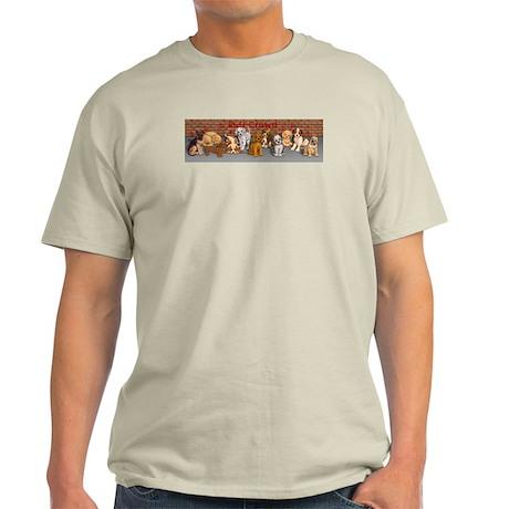 Ruff Crowd Light T-Shirt