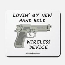 Wireless Device Mousepad