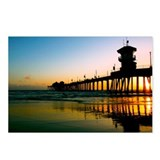 Huntington beach pier Postcards