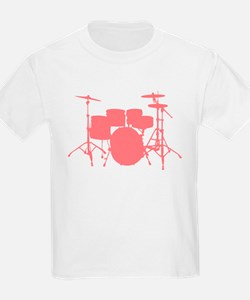 drums_pink T-Shirt