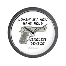 Wireless Device Wall Clock