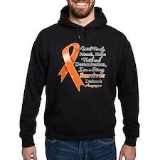 Leukemia Strong Survivor Hoodie