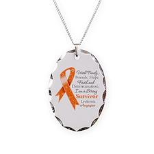 Leukemia Strong Survivor Necklace