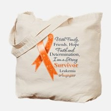 Leukemia Strong Survivor Tote Bag