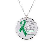Liver Cancer Strong Survivor Necklace