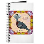 Crowned Pigeon Floral Journal