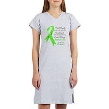 Lymphoma Strong Survivor Women's Nightshirt