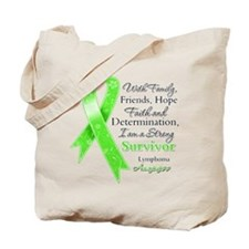 Lymphoma Strong Survivor Tote Bag